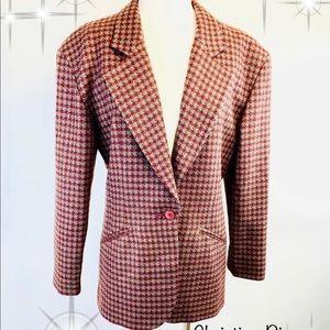Christian Dior 1980s Authentic Vintage Wool Blazer